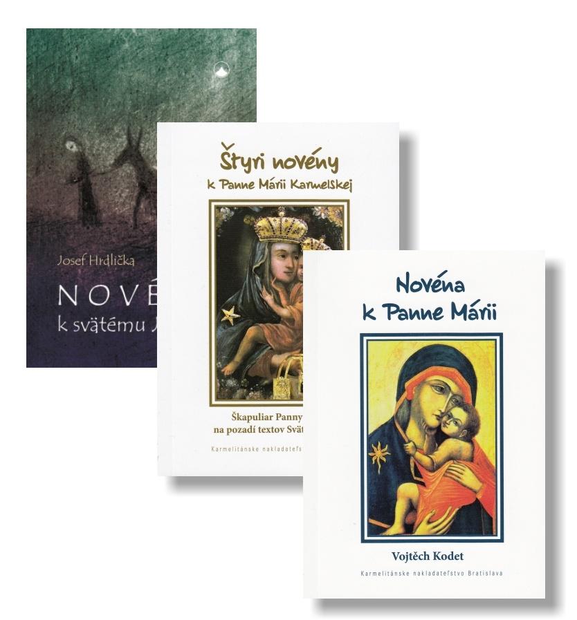 Sada KNA 7 - Novéna k Panne Márii + Novéna k svätému Jozefovi + Štyri novény k Panne Márii Karmelskej
