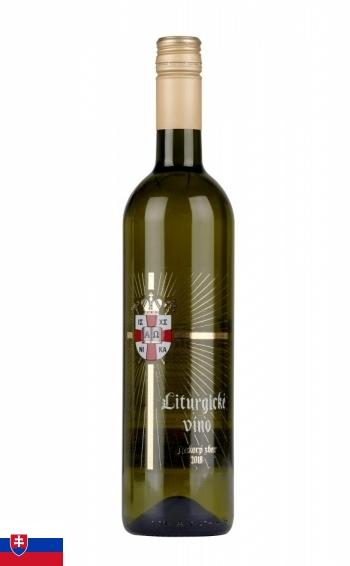 Liturgické víno - Neskorý zber 2018 (biele)