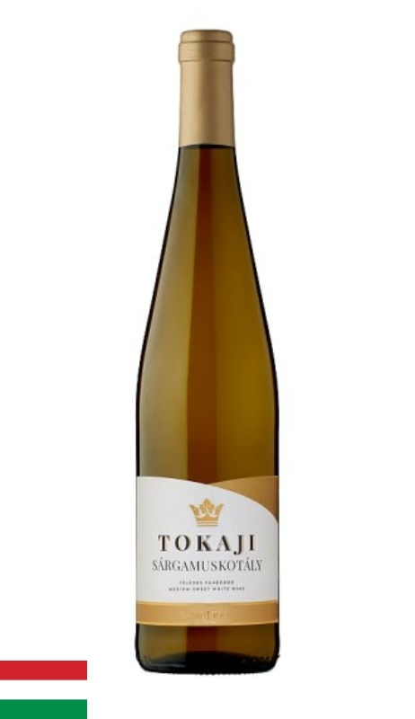 Víno Tokaji Sárgamuskotály