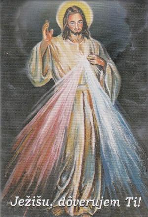Magnetka (5125) Ježišu, dôverujem Ti!