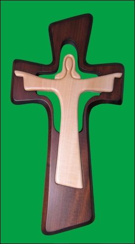 Kríž labovaný s Ježišom / JČ