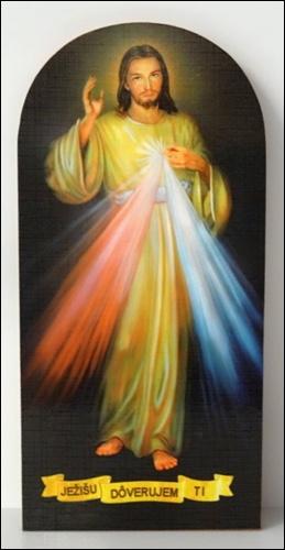 Obraz na dreve: Božie milosrdenstvo (PO4)