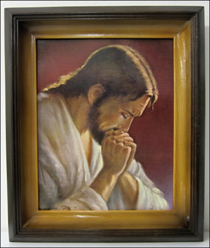 Obraz: Modliaci sa Pán Ježiš (26632)