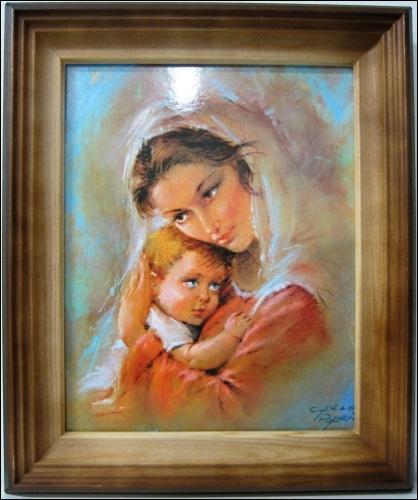 Obraz: Panna Mária s dieťaťom 2. (26634)