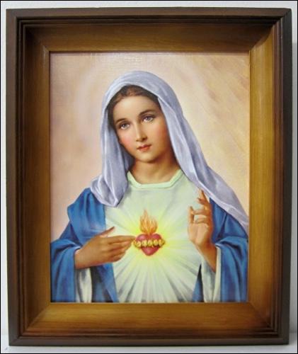Obraz: Srdce Panny Márie 1. (27425)