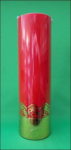 Sviečka olejová (0119) - červená