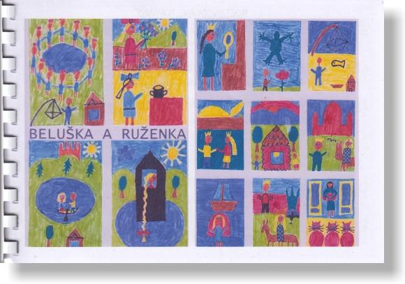 Beluška a Ruženka - spevník s notami