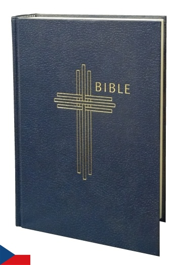 Bible česká ekumenická s DT / stredná - modrá