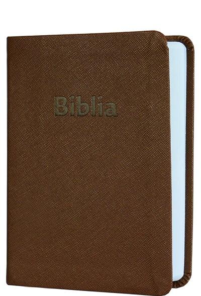 Biblia ekumenická vrecková 2018 - hnedá
