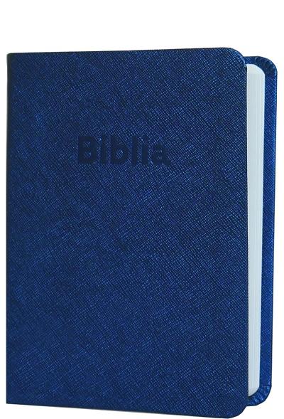 Biblia ekumenická vrecková 2018 - modrá