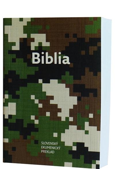 Biblia ekumenická vrecková 2018 - armádny vzor