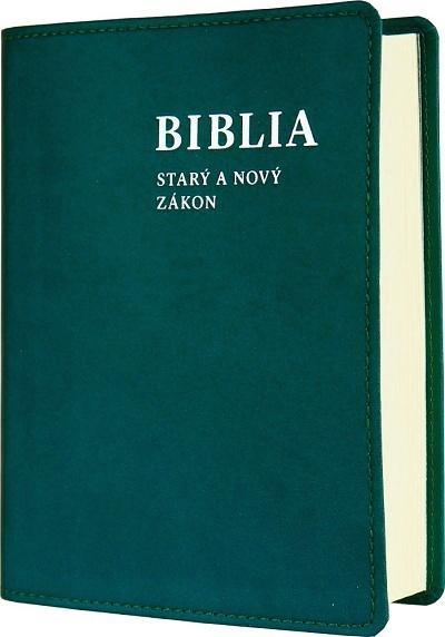 BIBLIA Starý a Nový zákon (vrecková) / SSV - modrozelená
