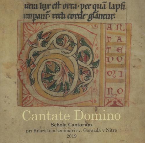 CD - Cantate Domino; Schola Cantorum 2019
