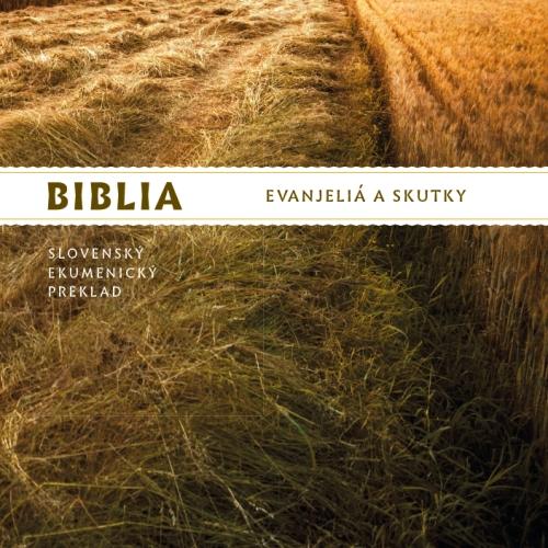 CD-ROM - BIBLIA – Evanjeliá a Skutky