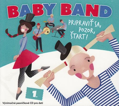 CD - Baby Band - Pripraviť sa, pozor, štart!