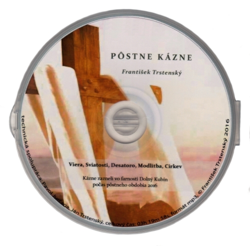 CD-ROM - Pôstne kázne