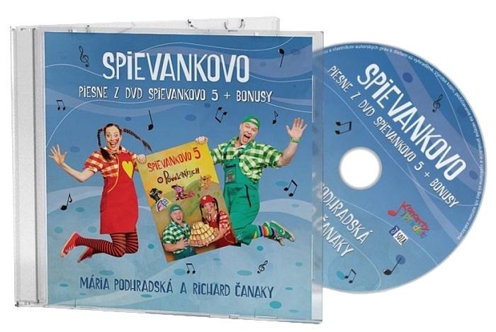 CD - Piesne z DVD Spievankovo 5 + Bonusy