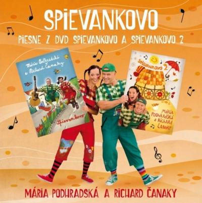 CD - Piesne z DVD Spievankovo 1 a Spievankovo 2