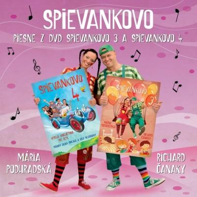 CD - Piesne z DVD Spievankovo 3 a Spievankovo 4