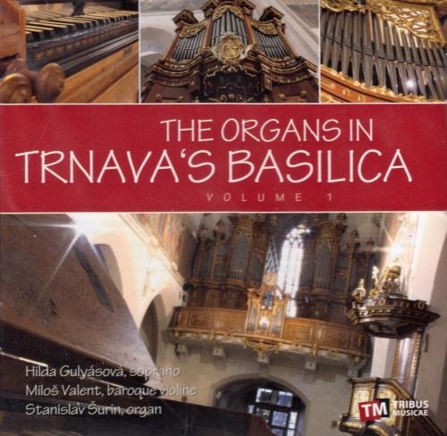 CD - The organs in Trnava's basilica