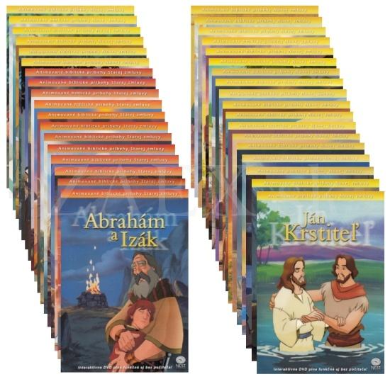 DVD - Animované biblické príbehy (sada komplet)