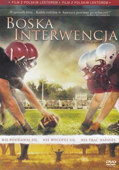 DVD - Boska interwencja (Vzepřít se obrům)