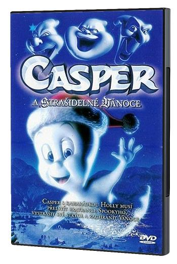 DVD - Casper a strašidelné Vianoce