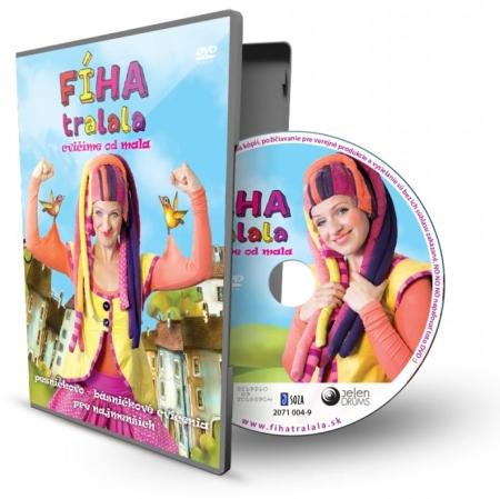 DVD - FÍHA tralala / Cvičíme od mala