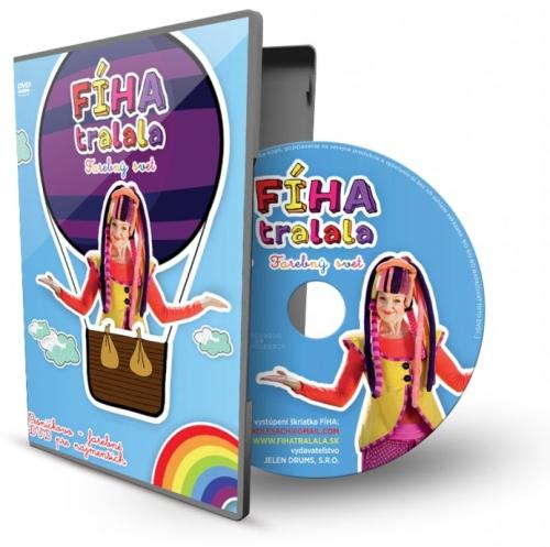 DVD - FÍHA tralala / Farebný svet