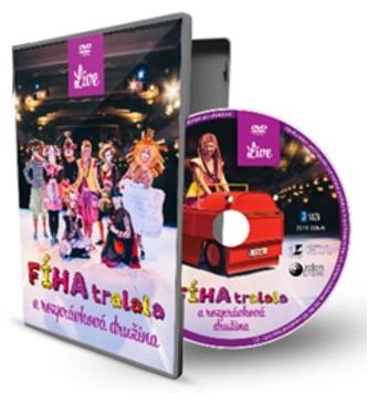 DVD - FÍHA tralala a rozprávková družina (LIVE)