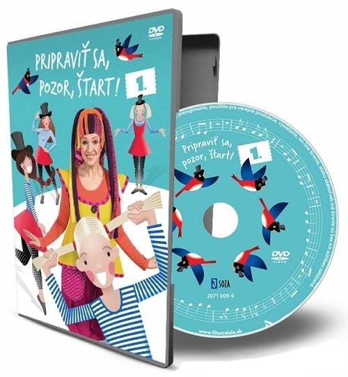 DVD - Pripraviť sa, pozor, štart!