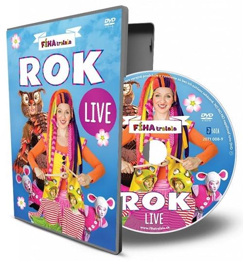 DVD - Rok LIVE
