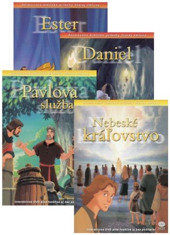 DVD - Animované biblické príbehy (sada 6)
