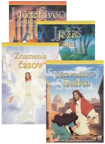 DVD - Animované biblické príbehy (sada 9)