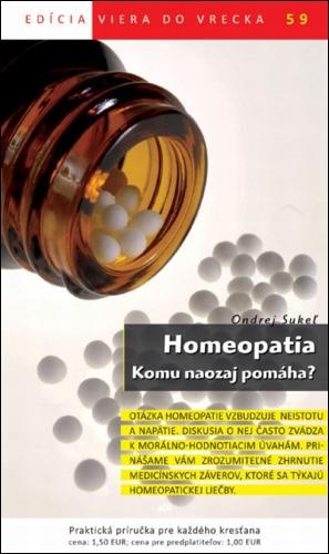 Homeopatia, Komu naozaj pomáha? (59)
