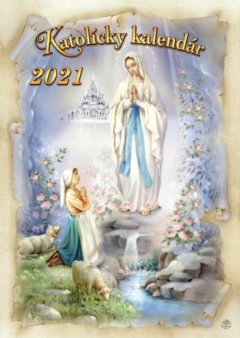Katolícky kalendár 2021 (nástenný) / ZAEX