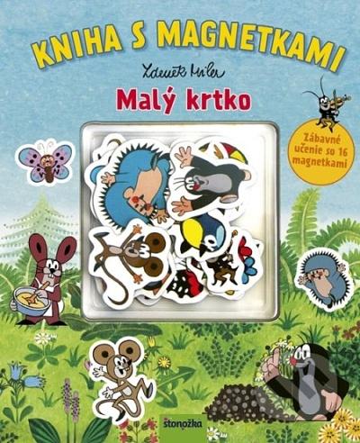 Kniha s magnetkami: Malý krtko