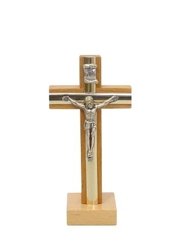 Kríž drev. s lištou na postavenie (KSZ005) - prírodný