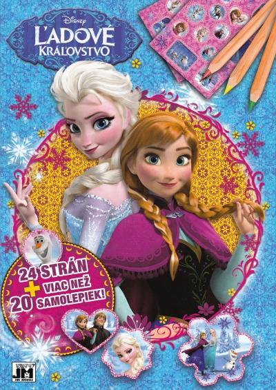 Ľadové kráľovstvo - 24 strán + viac než 20 samolepiek!