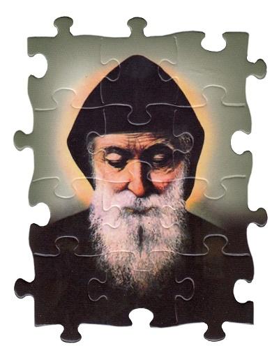 Magnetka puzzle (MPZ15) - Sv. Šarbel