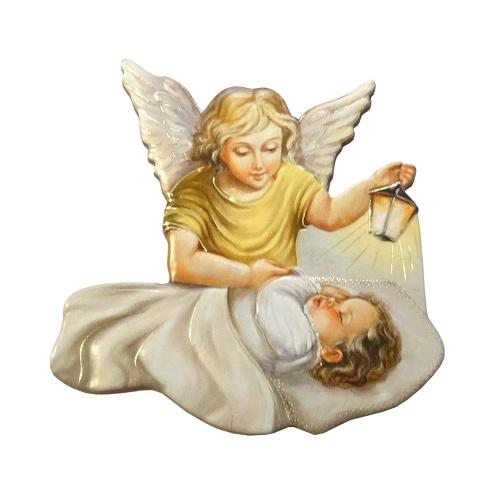 Magnetka (15/A100) - Anjel strážny s lampášom