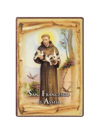 Magnetka drev. (721) - Sv. František z Assisi