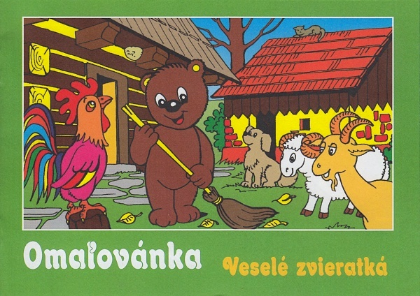 Maľovanka - Veselé zvieratká