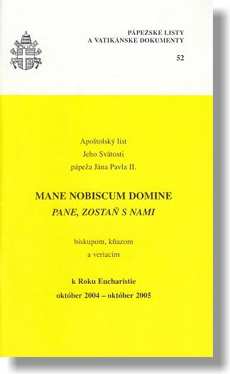 Mane nobiscum domine (PL52)