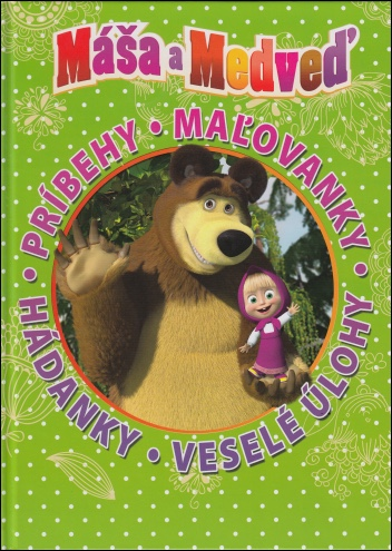Máša a Medveď: Kniha hier