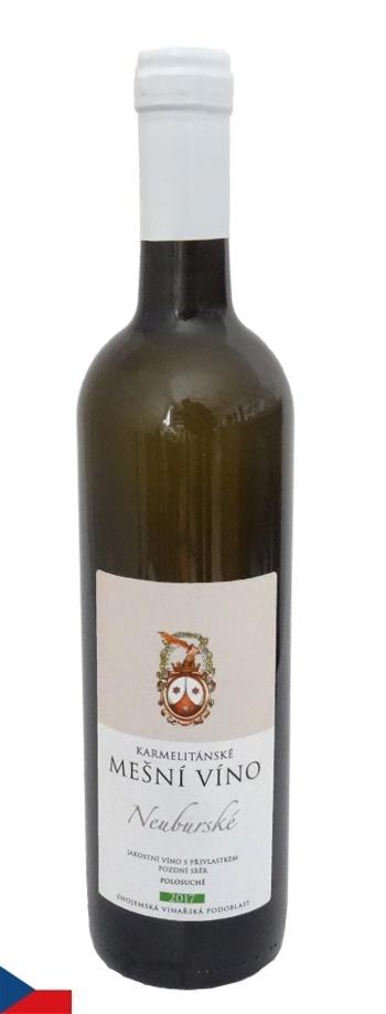 Mešní víno: Neuburské 2017
