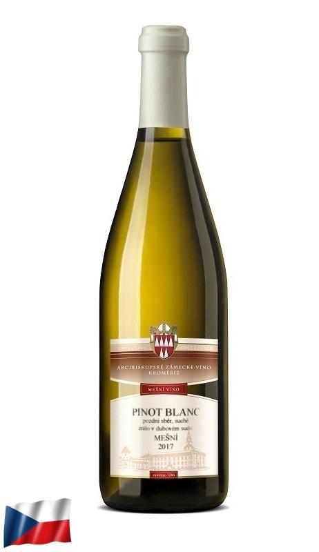 Mešní víno: Pinot Blanc 2017