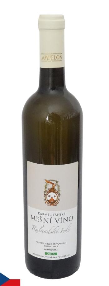 Mešní víno: Rulandské šedé 2016