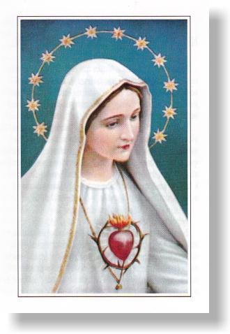 Modlitba zasvätenia sa nepoškvrnenému srdcu Panny Márie