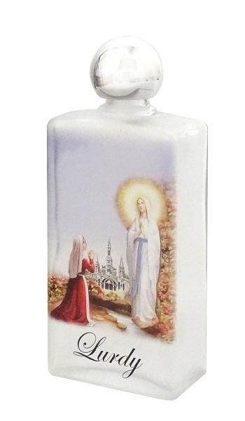 Nádoba na svätenú vodu sklenená (100SD) - Lurdy